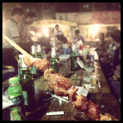 Le BBQ chinois... Une institution!