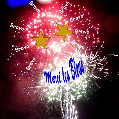 CHAMPION du MONDE ... MERCI LES BLEUS