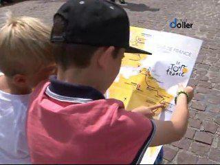 """Ambiance """"Tour de France"""" à Cernay pour la 9ème étape"""
