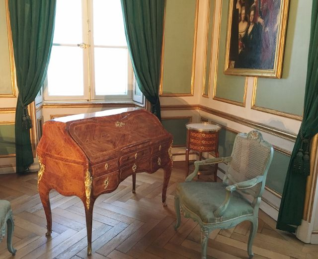 Salons du château Nymphenburg Munich Allemagne