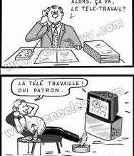 F.P.T. - TÉLÉTRAVAIL : LES FONCTIONNAIRES ET AGENTS PUBLICS POURRAIENT-ILS TRAVAILLER DE CHEZ EUX ? MISE À JOUR EN COURS