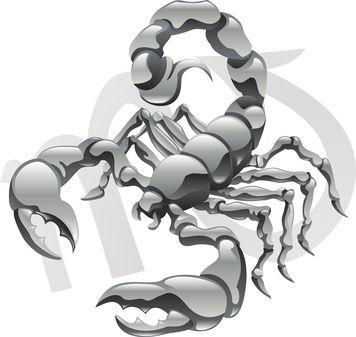 Planètes en Scorpion