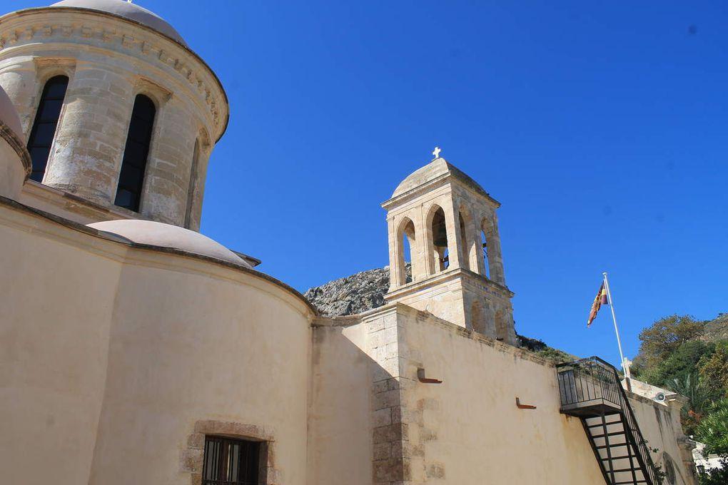 Le monastère de Gonias ...