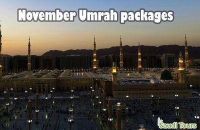 November Umrah packages