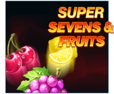 machine a sous Super Sevens & Fruits logiciel Playson