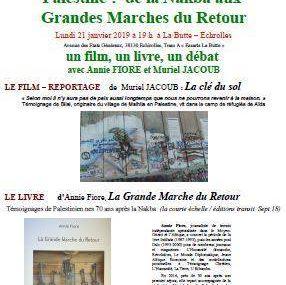 21 janvier à Échirolles : un film, un livre, un débat.