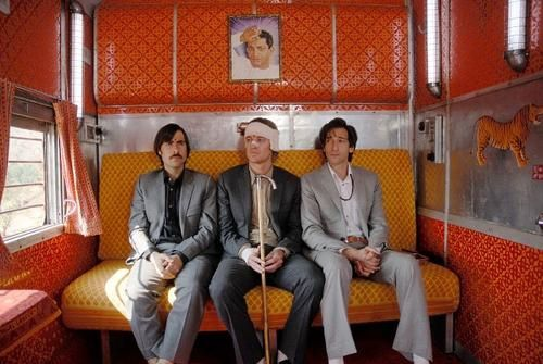A bord du Darjeeling Limited- Wes Anderson.
