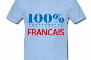 T shirt France Humour 100% Français HBC