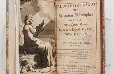 De rerum natura: struttura e filosofia del poema di Lucrezio