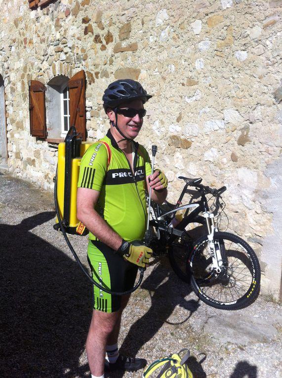 super rando raid en provence avec en prime la montée du ventoux!