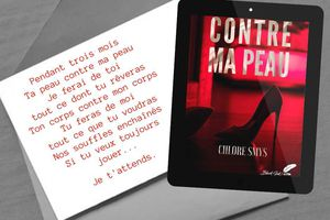 Contre ma peau - Chlore Smys chez Black Ink Editions