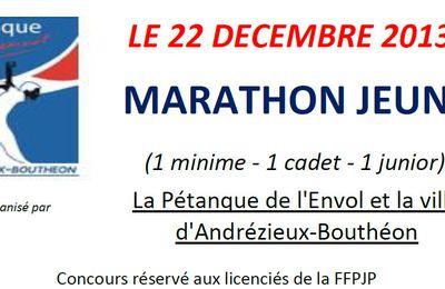 Le MARATHON JEUNES d'Andrézieux-Bouthéon