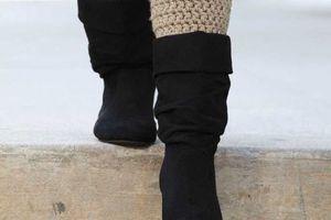 Patrons gratuits des guêtres au crochet (Boot Cuffs)