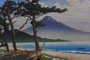 Préf. de Shizuoka : Miho no Matsubara, légendaire plage de pins avec vue splendide sur le Mt Fuji