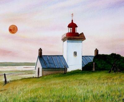 Le phare de la pointe d'Agon-Coutainville