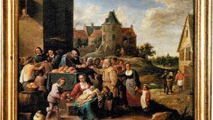 Tableau de David Teniers le Jeune : « Les œuvres de la Miséricorde » (XVIIème siècle)