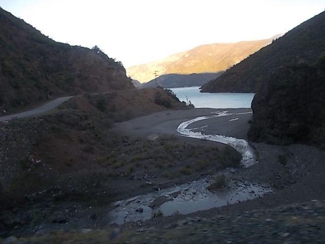 les premières vues de Shkoder,  l aller , le lac de Koman et le retour,