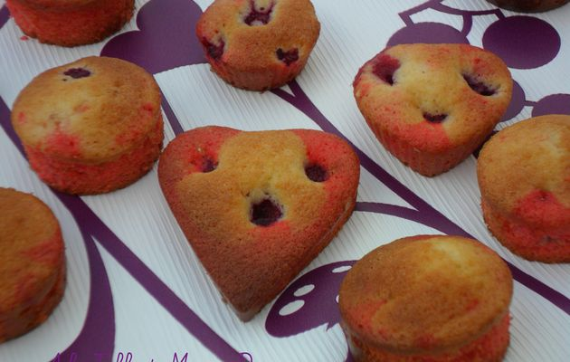 Moelleux yaourt et framboise (test carnaval)