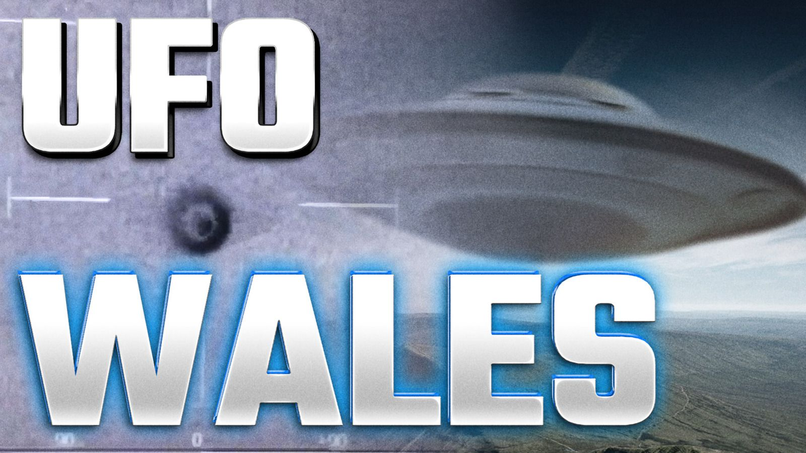 UFO Sighting News : UFO Filmed By Police Helicopter in Wales on Thermal Camera in 2016 👽