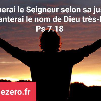 """Psaume de David 07 """" Prière du juste persécuté """"#parti2zero #psaumes"""