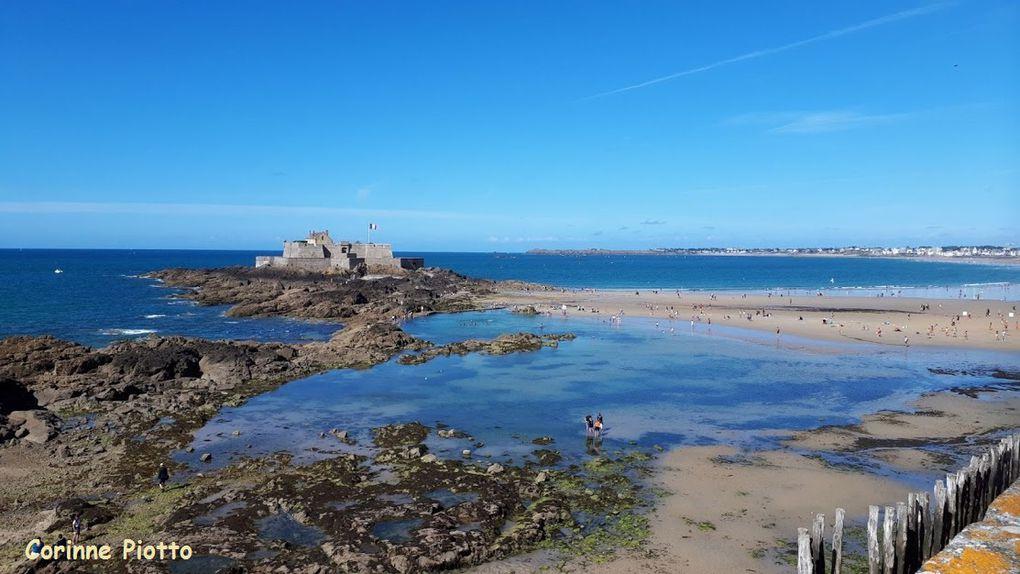 Cap Fréhel, le port et le fort de Saint-Malo