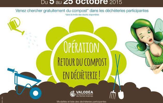 Opération Retour du Compost en Déchèterie 2015