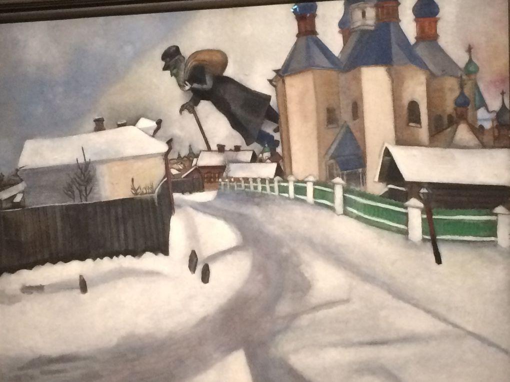 Salle 5 : Eugene Jannson, William Degouve de Nuncques, Van Gogh, Chagall