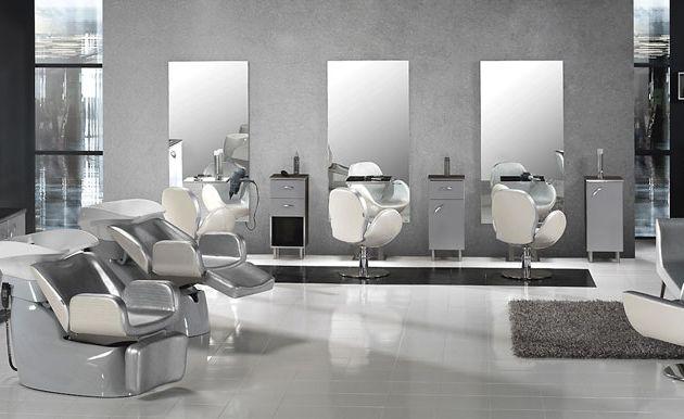 Salon de coiffure design italien