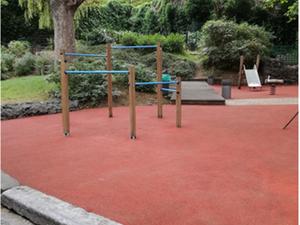 La plaine de jeux du parc Lacroix à nouveau accessible