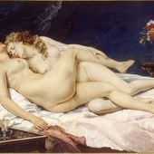 Courbet - Le Sommeil - LANKAART