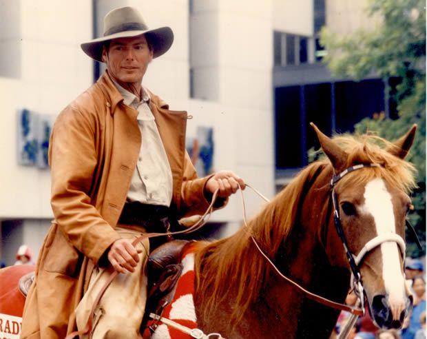 Hommage à l'acteur Christopher Reeve