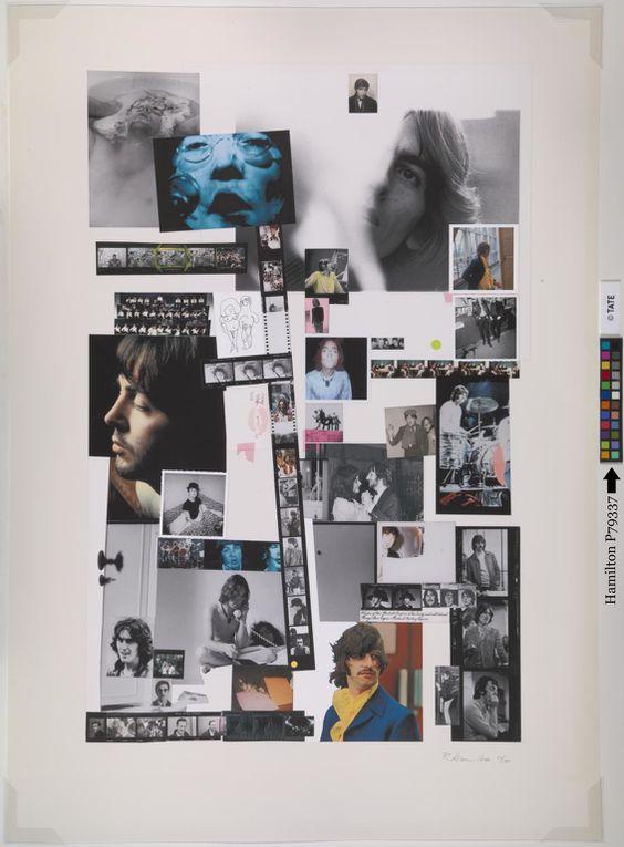 Le poster de l'Album Blanc