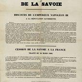 Comment la Savoie et Nice sont devenues françaises