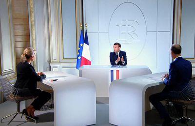 Audiences : Plus de 20 millions de téléspectateurs ont suivi l'interview d'Emmanuel Macron