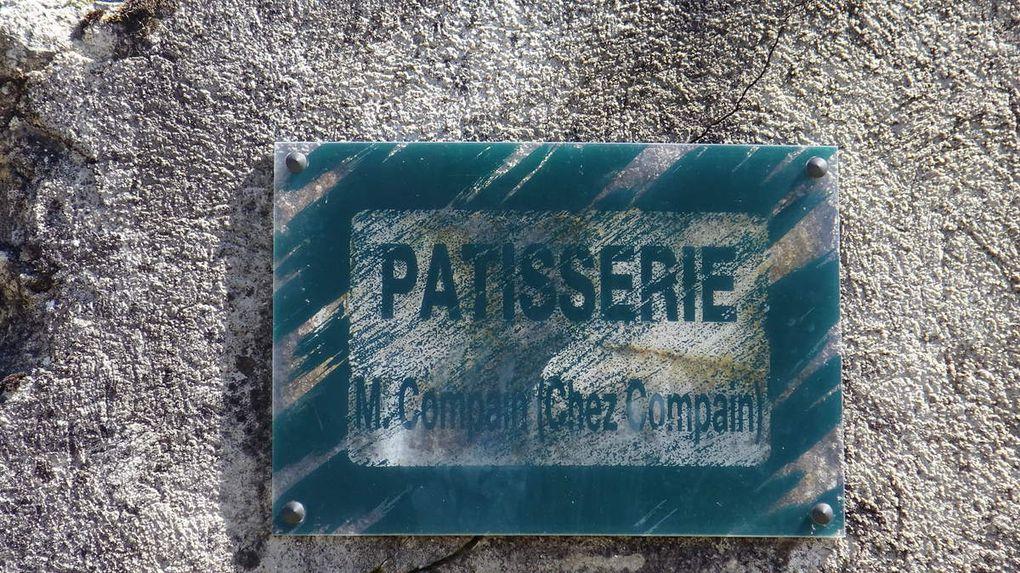 La pâtisserie Compain et la boulangerie Bouchoule et son four