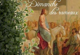 Dimanche des Rameaux A (Matthieu 21, 1-11) (DiMail 13)