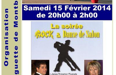 Samedi 15 Février 2014. James de Touraine Danse à L'Igloo du Parc des Expositions de Tours.