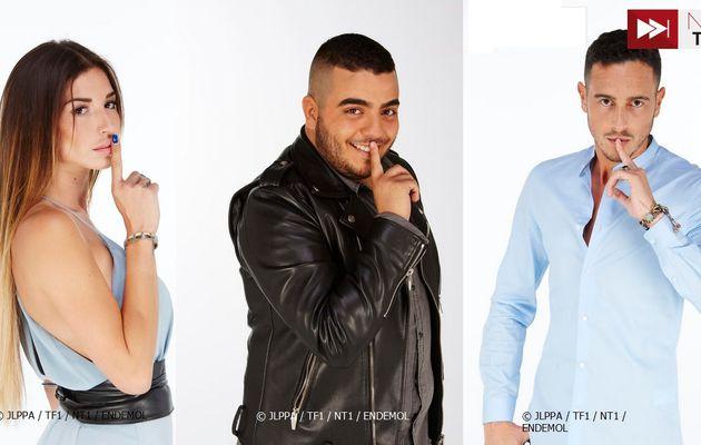 Secret Story 10 : TF1 dévoile les 3 premiers candidats (Vidéo)