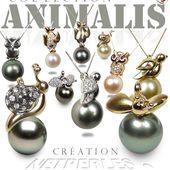 Bijoux de perles - Bijoux Or et Perles - Diamants et perles - Perles de Culture - Collection NETPERLES ANIMALIS