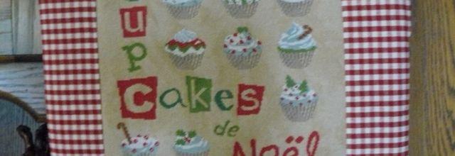 "SAL ""Cupcakes de Noël"" - la finition"