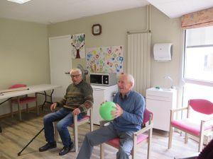 Octobre à la maison de retraite