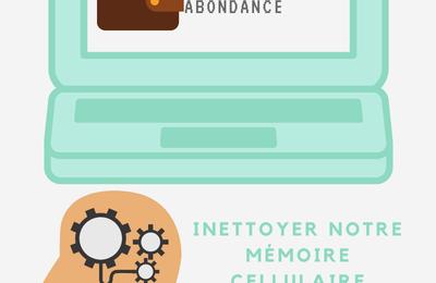 Attirer richesse & abondance en nettoyant notre mémoire cellulaire