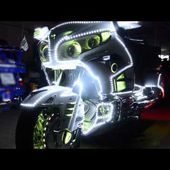 "RGB LED ""MONSTER"" controller on GoldWing 1800 2012"