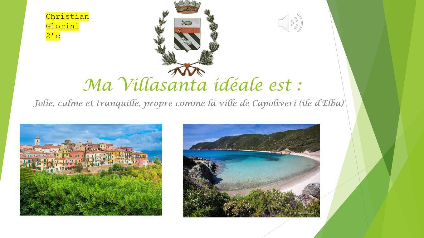 Ma Villasanta idéale et le citoyen idéal de ma ville