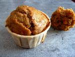 Muffins carotte cannelle (d'apr. Pascale Weeks)