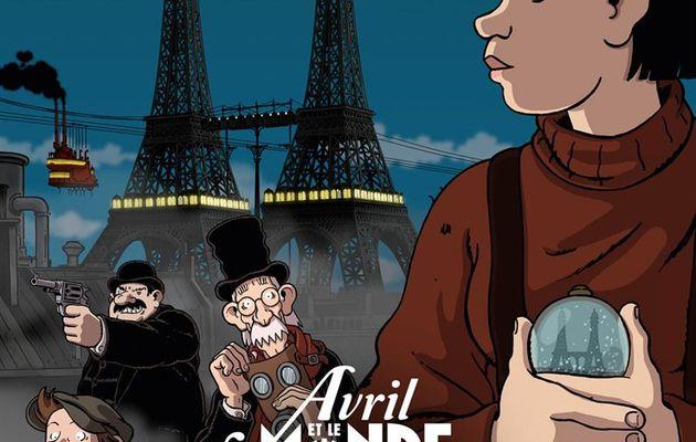 Avril et le monde truqué : magie et steampunk
