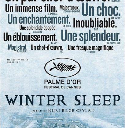 WINTER SLEEP – NURI BILGE CEYLAN - 6 décembre