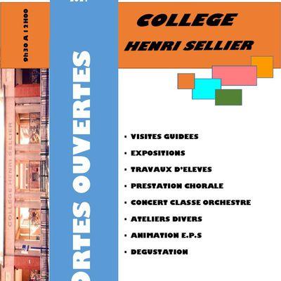 Portes ouvertes 2021 du collège Henri Sellier