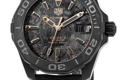 TAG Heuer Aquaracer Calibre 5 Carbon Mens watch WBD218A.FC6445