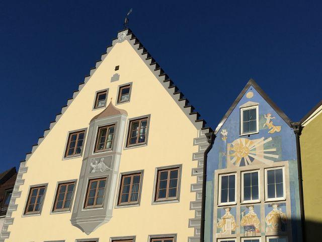 Architecture de Fussen Allemagne